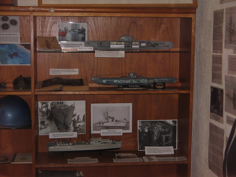 E-Boat and U-Boat Artefacts