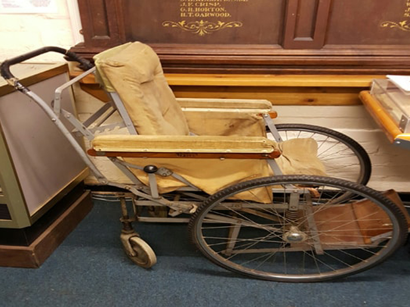 First World War Wheelchair From The Kitchener's Memorial Home