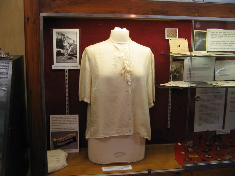 Blouse Made From Parachute Silk